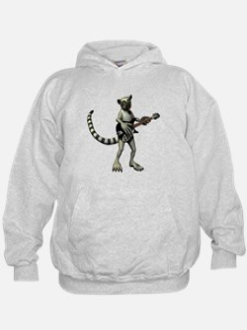Lemur Guitar Hoodie