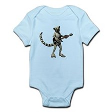 Lemur Guitar Infant Bodysuit