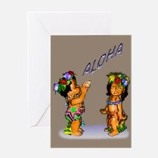 children aloha Greeting Card
