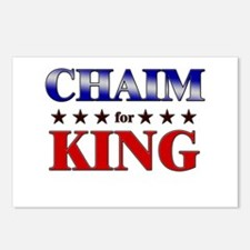 CHAIM for king Postcards (Package of 8)
