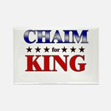 CHAIM for king Rectangle Magnet