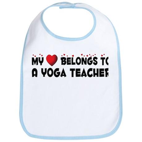 Belongs To A Yoga Teacher Bib