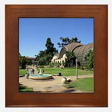 Balboa Park Framed Tile
