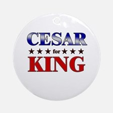 CESAR for king Ornament (Round)