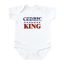 CEDRIC for king Infant Bodysuit