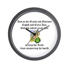 On the Eighth Day Wall Clock