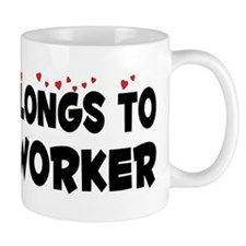 Belongs To A Woodworker Mug