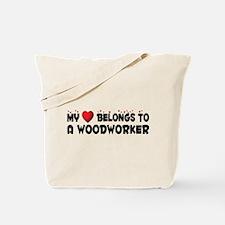 Belongs To A Woodworker Tote Bag