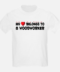 Belongs To A Woodworker T-Shirt
