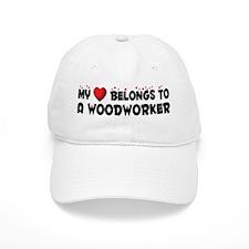 Belongs To A Woodworker Baseball Cap