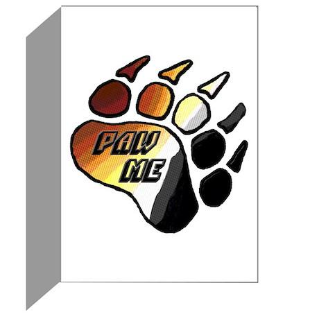 BEAR PRIDE SWIRL/PAW ME Greeting Cards (Pk of 20)