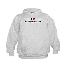 I Love Evangeline Lilly Hoodie