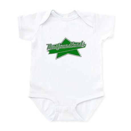 Baseball Newfoundland Baby Bodysuit