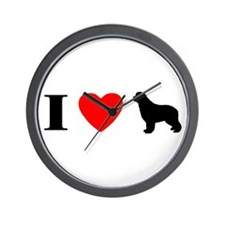 I Heart Newfoundland Wall Clock