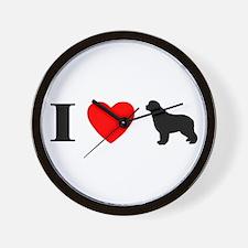 I Heart Newfoundland Wall Clock