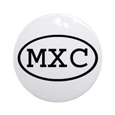 MXC Oval Ornament (Round)