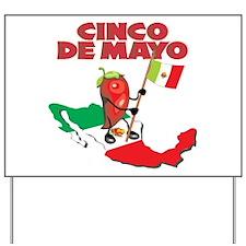 Cinco de Mayo Mexican Yard Sign