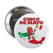 "Cinco de Mayo Mexican 2.25"" Button (10 pack)"