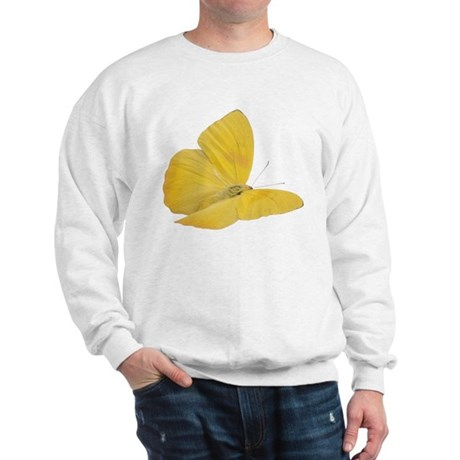 Yellow Butterfly Sweatshirt