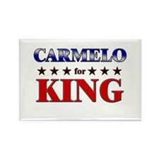 CARMELO for king Rectangle Magnet