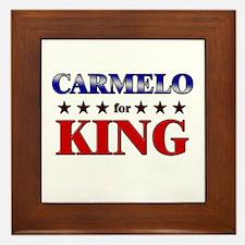 CARMELO for king Framed Tile