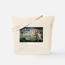 Cute Botticellis birth of venus Tote Bag