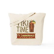 Fort Lauderdale Tiki - Tote or Beach Bag