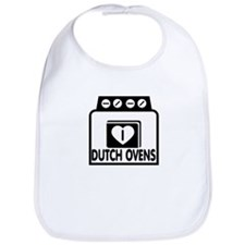 I (HEART) DUTCH OVENS Bib