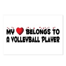 Belongs To A Volleyball Player Postcards (Package