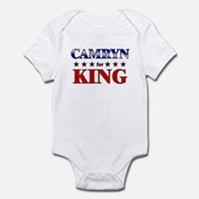 CAMRYN for king Infant Bodysuit