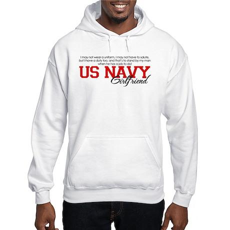 Silent Ranks Navy Girlfriend Hooded Sweatshirt