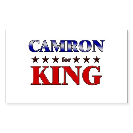 CAMRON for king Rectangle Sticker