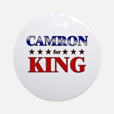 CAMRON for king Ornament (Round)
