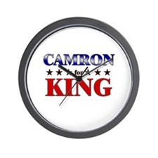 CAMRON for king Wall Clock