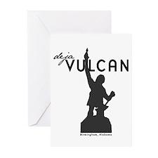 Deja Vulcan Greeting Cards