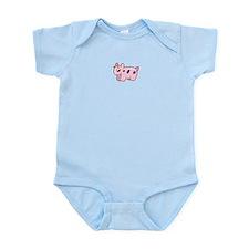 Pink Cow Infant Bodysuit