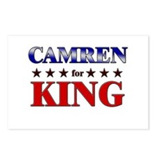 CAMREN for king Postcards (Package of 8)