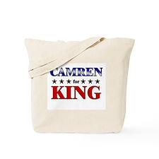 CAMREN for king Tote Bag