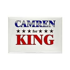 CAMREN for king Rectangle Magnet