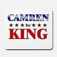 CAMREN for king Mousepad