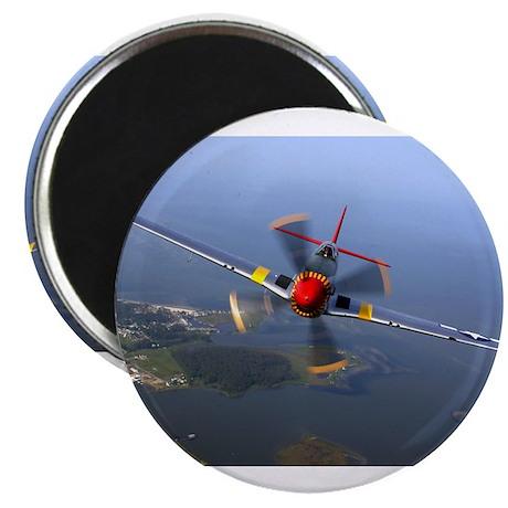 Airplane Mustang Magnet