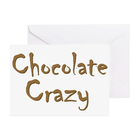 Chocolate Crazy Greeting Cards (Pk of 20)