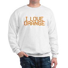 I LOVE ORANGE Sweatshirt
