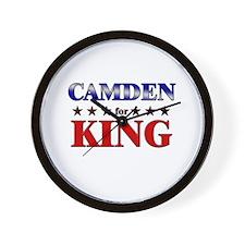 CAMDEN for king Wall Clock