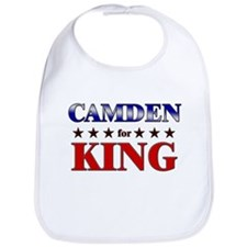 CAMDEN for king Bib