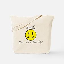 Smile life Tote Bag