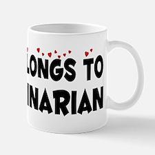 Belongs To A Veterinarian Mug