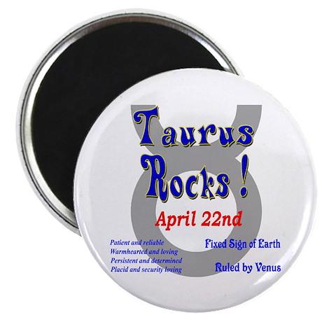Taurus April 22nd Magnet