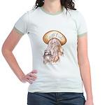 CHOLA CHARRA AZTECA Jr. Ringer T-Shirt