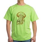 CHOLA CHARRA AZTECA Green T-Shirt